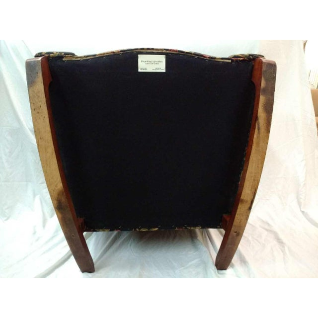 Early 20th Century Overstuffed Rocker For Sale - Image 9 of 10