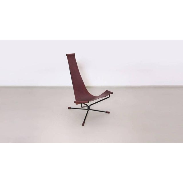 Dan Wenger lotus chair is a design from the 1970s newly manufactured by the artist himself.