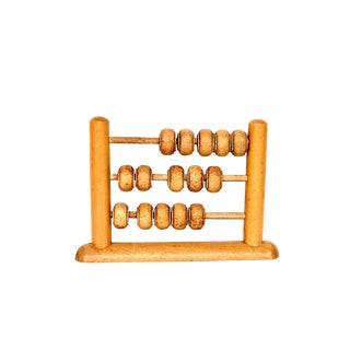 Vintage Wooden Abacus Toy For Sale
