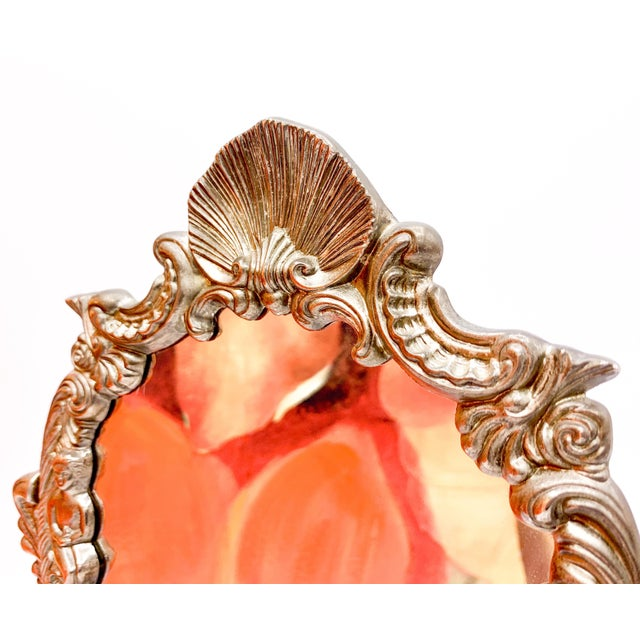 Art Nouveau Dressing Table Mirror For Sale - Image 4 of 9