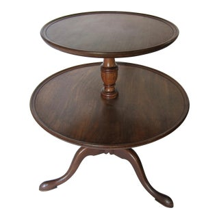 Two-Tiered Side Table