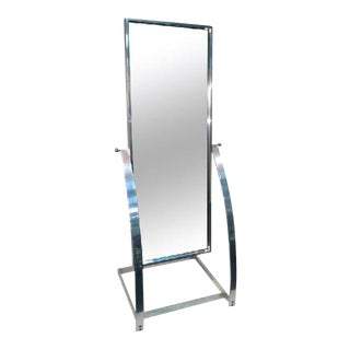 Milo Baughman Modernist Full Length Mirror