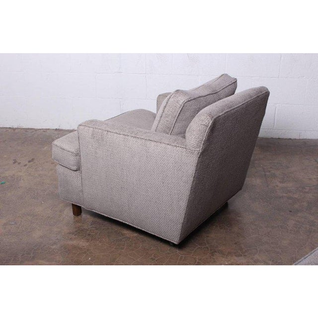 Lounge Chair and Ottoman by Edward Wormley for Dunbar For Sale - Image 10 of 11