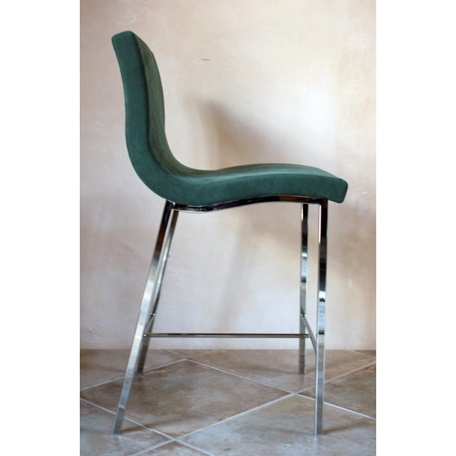 Modern Ligne Roset Counter Stools - a Pair For Sale - Image 9 of 10