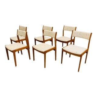 Danish Modern Teak Dining Chairs - Set of 6 For Sale
