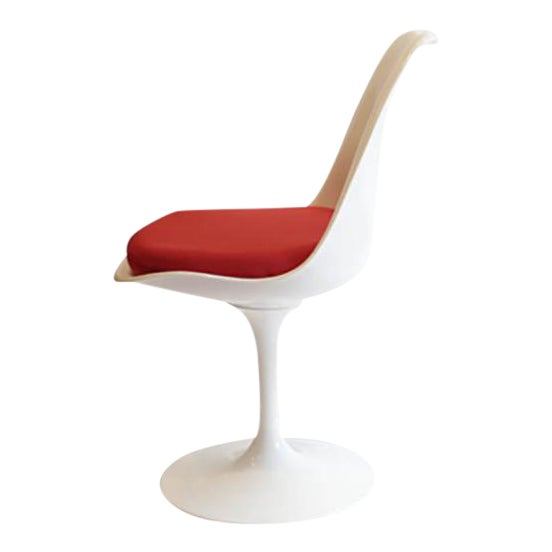 Saarinen Tulip Armless Chair by Knoll - Image 1 of 11