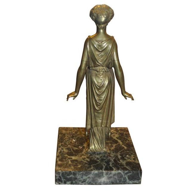 Pair of Vintage Bronze Ladies - Image 3 of 5