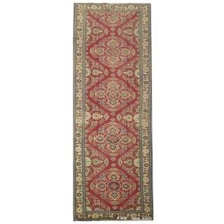 """Vintage Persian Tabriz Runner Rug - 3'2"""" x 13' For Sale"""