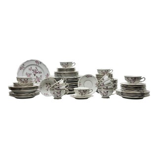 Hutschenreuther Florette Service for 12 Dinnerware - 72 Pc. Set For Sale