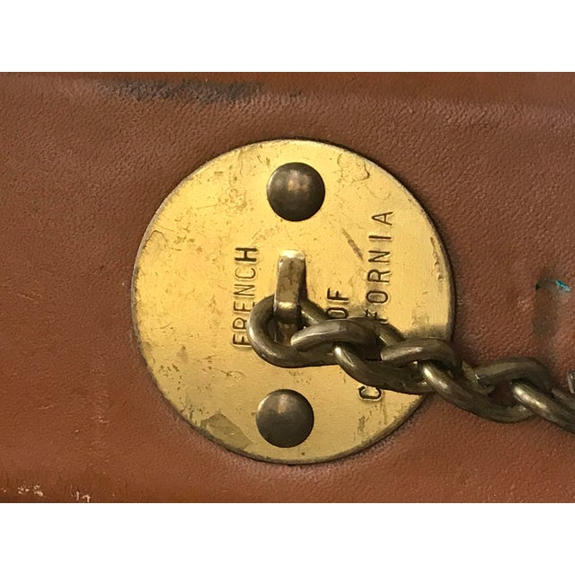1970s Vintage Louis Vuitton Garment Bag For Sale In Dallas - Image 6 of 13