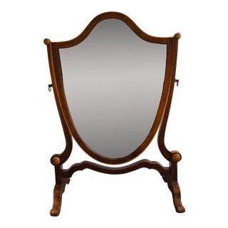 Regency Antique Dresser Top Mirror For Sale