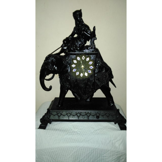Egyptian Revival Mantel Clock - Image 2 of 11