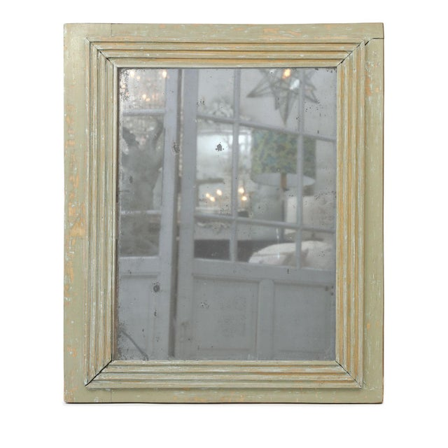 French Painted Mirror For Sale - Image 9 of 13