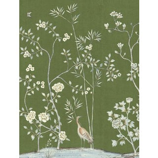 Casa Cosima Moss Brighton Wallpaper Mural - Sample For Sale