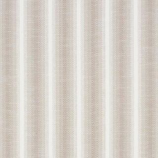 Schumacher Colada Stripe Indoor/Outdoor Fabric in Natural For Sale