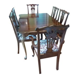 Pennsylvania House Queen Anne Style Dining Set