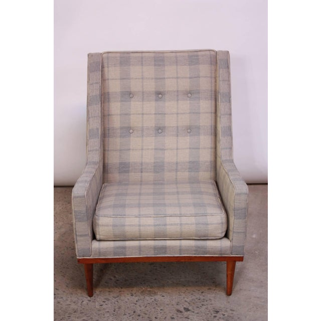 Milo Baughman for James Inc. 'King' Chair - Image 4 of 8