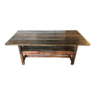 19th Century American Convertible Table/Bench For Sale