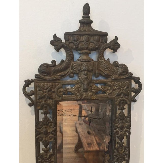 Traditional 19th Century Victorian Cast Iron Sconces - a Pair For Sale - Image 3 of 7