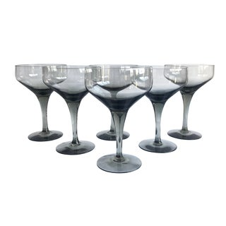 Mid-Century Cocktail Coupes, Set of 6