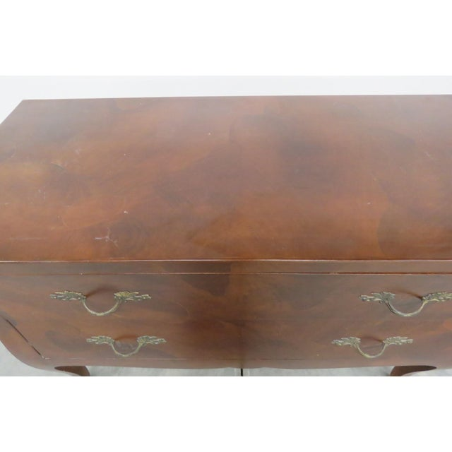 Italian Italian Louis XV Style Olivewood Commode For Sale - Image 3 of 10