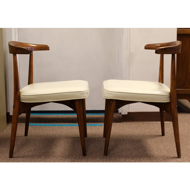 Mid Century Modern Lawrence Peabody Craft Assoc.Dining Table & 6 Side Chairs - Set of 7 For Sale - Image 9 of 13