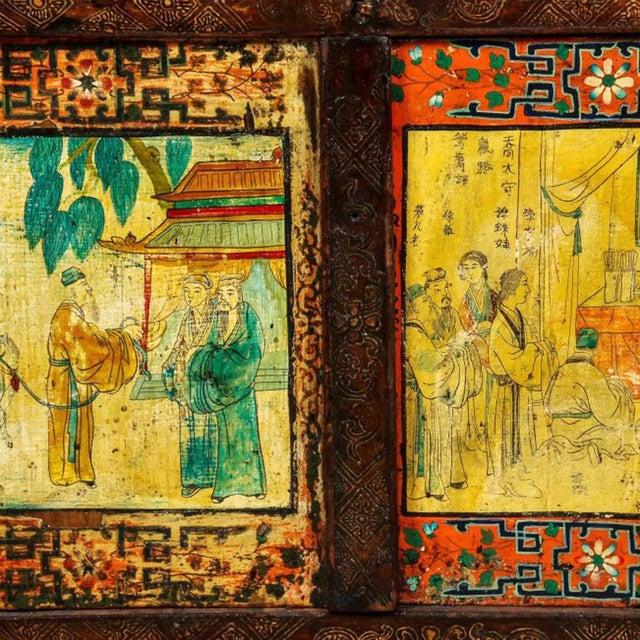 Antique Tibetan Monastery Cabinet - Image 6 of 6