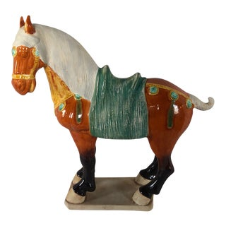 Mid 20th C. Vintage Chinese Tang Style Horse Model