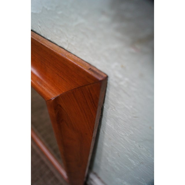 Stickley Solid Cherry Frame Rectangular Mirror For Sale In Philadelphia - Image 6 of 10