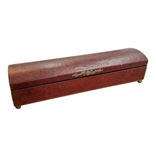 Decorative Leather Box For Sale