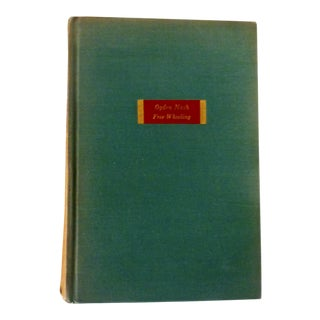 "1931 ""Free Wheeling"" Ogden Nash Book"