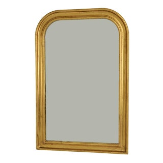 Louis Phillippe Gilded Mirror For Sale