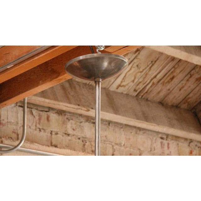 Three Italian Industrial 1960s Metal Pendant Lights For Sale In Los Angeles - Image 6 of 7