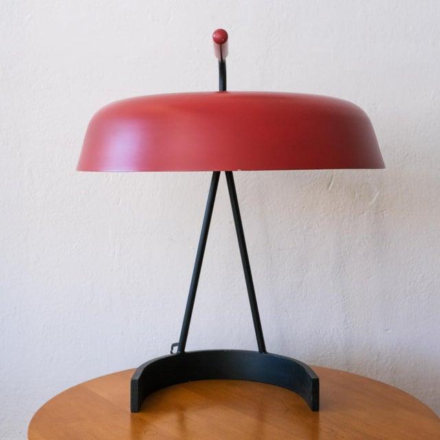 Mid-Century Modern Modernist European Desk Lamp, 1950s For Sale - Image 3 of 11