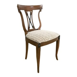 Neoclassical Side Chair For Sale