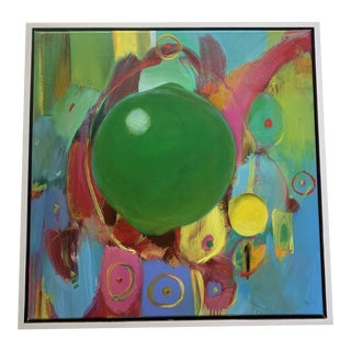 """""""Every Day Is a New Day"""" Contemporary Abstract Acrylic Painting by David Criner, Framed For Sale"""