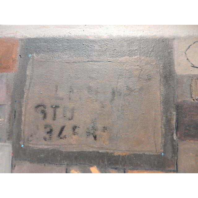 1994 Jose Guedez Original Abstract Oil Painting - Image 3 of 6