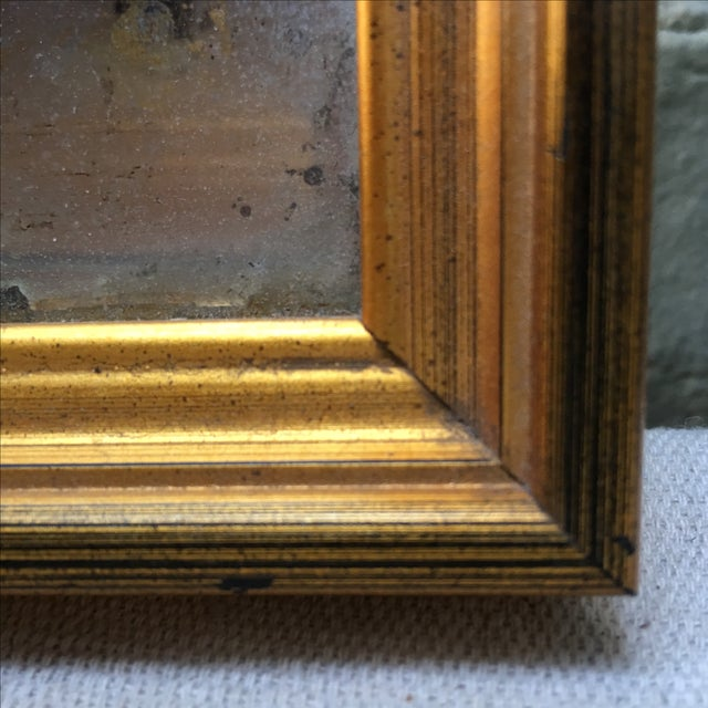 Reverse Painted Mirror C. 1900's - Image 4 of 6