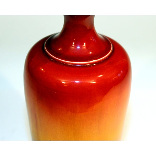 Late 19th Century Antique Late 19th Century Ault Pottery English Arts & Crafts Vase in the Style of Christopher Dresser For Sale - Image 5 of 11
