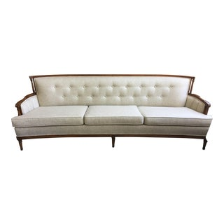 Hollywood Regency Mid-Century Sofa For Sale