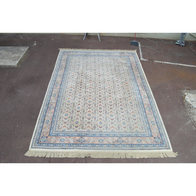 "Traditional Karastan #789 Herati 8'8"" x 12' Room Size Rug For Sale - Image 3 of 13"