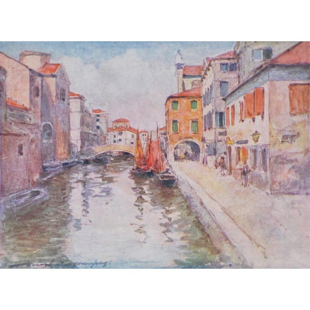Impressionism 1912 Mortimer Menpes, Venice Original Period Lithographs, Set of 4 For Sale - Image 3 of 7