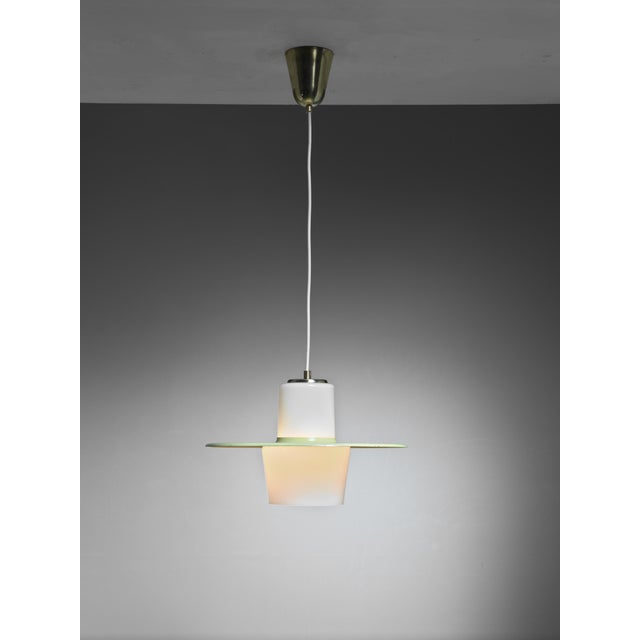 Mid-Century Modern Paavo Tynell Model K2-23 Pendant By Idman, Finland, 1950s For Sale - Image 3 of 5