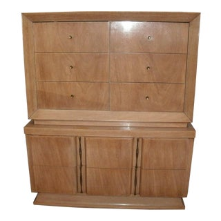 1960s Mid Century Modern American of Martinsville Highboy For Sale