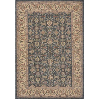Mansour Superb Quality Handwoven Agra Rug - 6'2'' X 9' For Sale