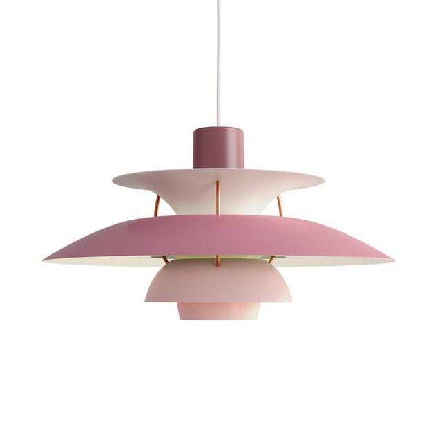 Poul Henningsen Ph 5 Pendant for Louis Poulsen in Red - Image 7 of 13