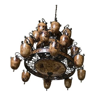 Maitland Smith Traditional Chandelier For Sale