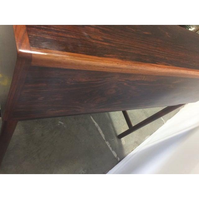 Wood Mid-Century Torbjørn Afdal Rosewood Secretary Desk For Sale - Image 7 of 9