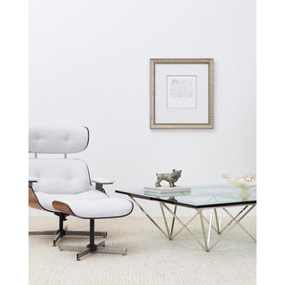 Eames Style Lounge Chair and Ottoman by Plycraft Preview