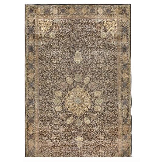 Antique Oversize North Indian Carpet - Image 1 of 1
